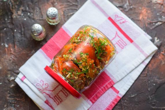 Томатная паста с чесноком на зиму - рецепт с пошаговыми фото