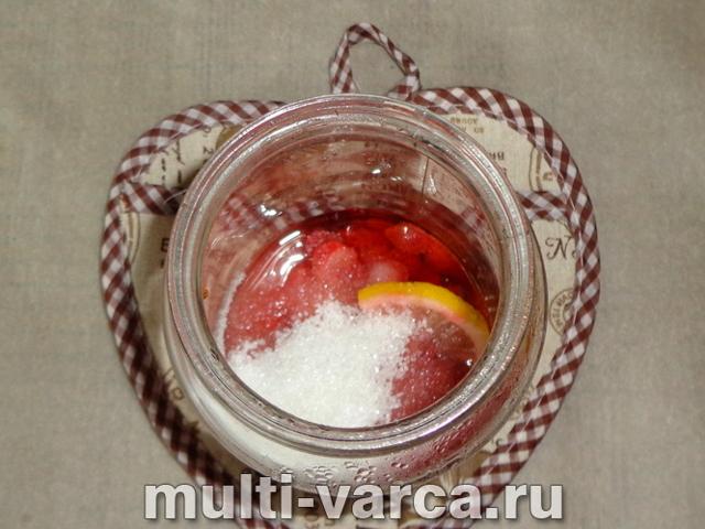 Компот из земляники и клубники на зиму - рецепт с пошаговыми фото