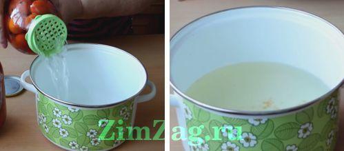 Помидоры с чесноком на зиму без стерилизации - рецепт с пошаговыми фото