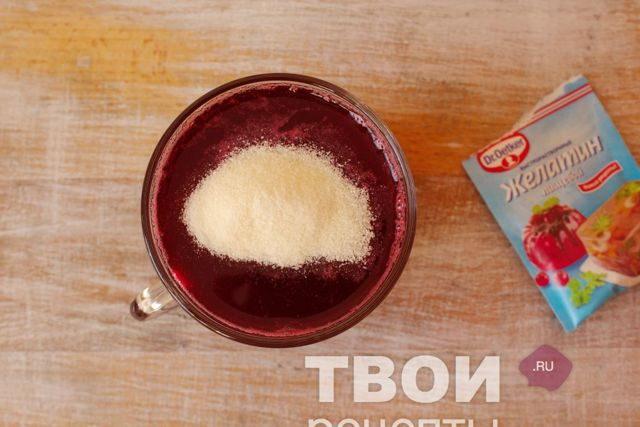 Повидло из вишни с желатином на зиму - рецепт с пошаговыми фото