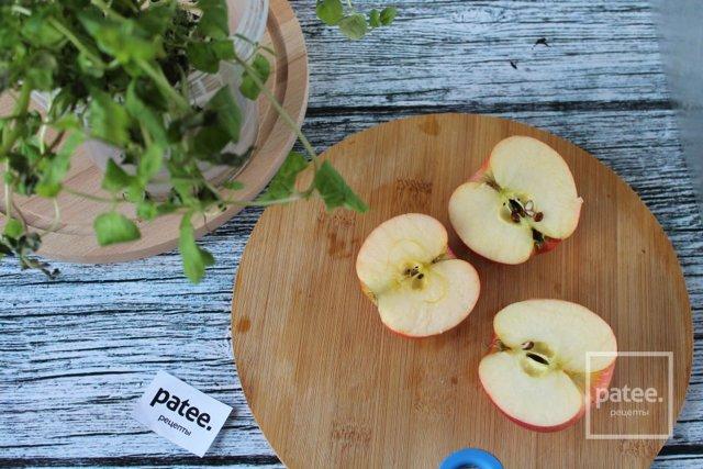 Компот из яблок с мятой на зиму - рецепт с пошаговыми фото