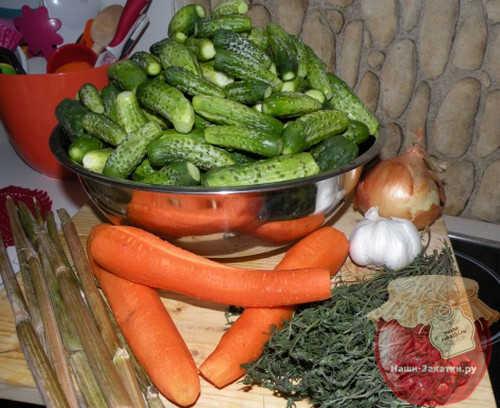 Огурцы по-польски с горчицей на зиму - рецепт с пошаговыми фото
