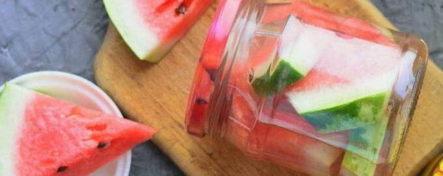 Маринованные арбузы с медом на зиму - пошаговый рецепт с фото
