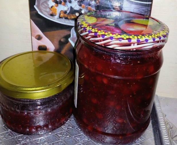 Варенье из груш и брусники на зиму - простой пошаговый рецепт