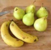Пюре из груш и бананов на зиму - пошаговый рецепт с фото