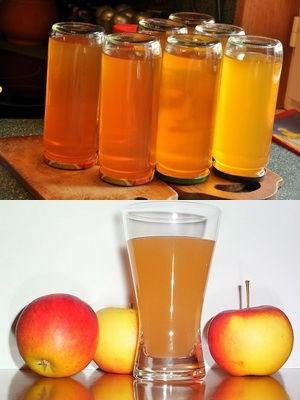 Яблочный сок из ранеток через соковыжималку с мякотью на зиму - простой пошаговый рецепт