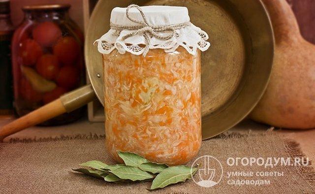 Засолка капусты на зиму в банках - 5 простых рецептов с фото пошагово