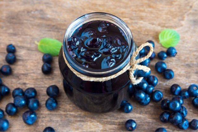 Черника в собственном соку без варки на зиму - рецепт с пошаговыми фото
