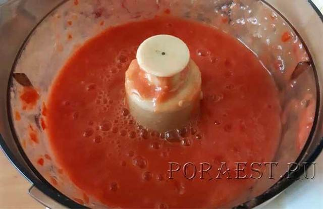 Густая аджика с хреном на зиму - рецепт с пошаговыми фото