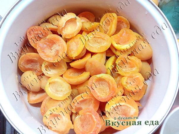 Желе из абрикосов с агар-агаром на зиму - простой пошаговый рецепт