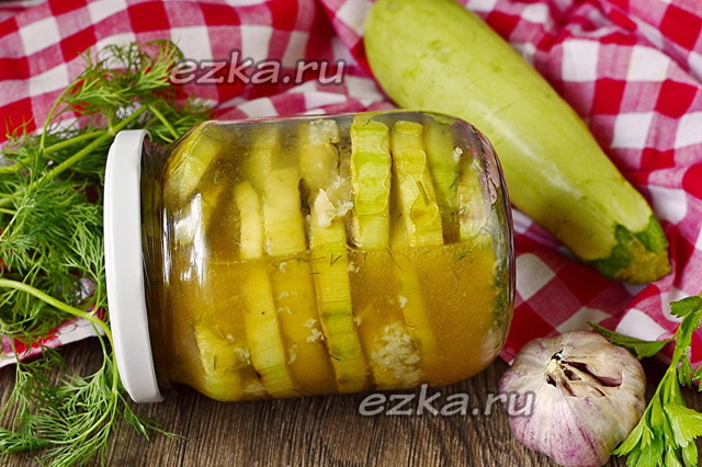 Жареные кабачки на зиму - рецепт приготовления с пошаговыми фото