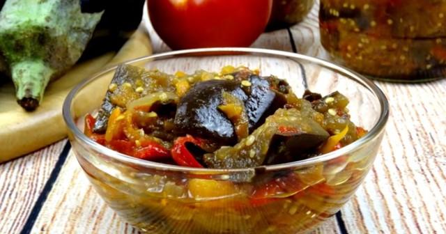 Лечо на зиму с томатной пастой - простой пошаговый рецепт