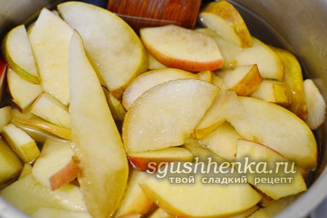 Варенье из яблок и груш в домашних условиях на зиму - рецепт с пошаговыми фото
