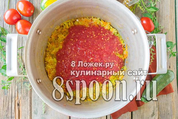 Салат из кабачков и капусты на зиму - пошаговый рецепт с фото
