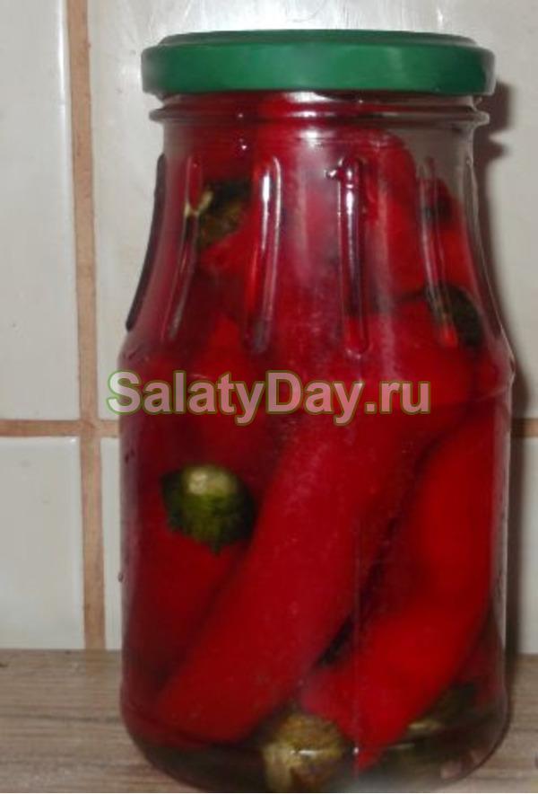 Горький перец на зиму - 5 рецептов пальчики оближешь с фото пошагово