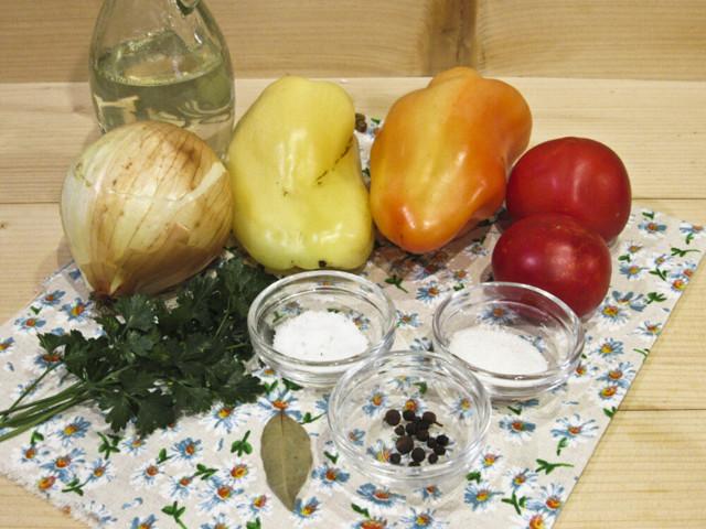 Салат Донской слоями на зиму - простой пошаговый рецепт