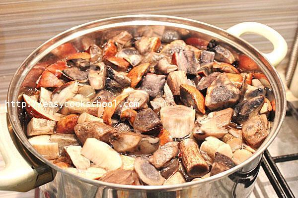 Подосиновики на зиму в банках - рецепт приготовления с пошаговыми фото