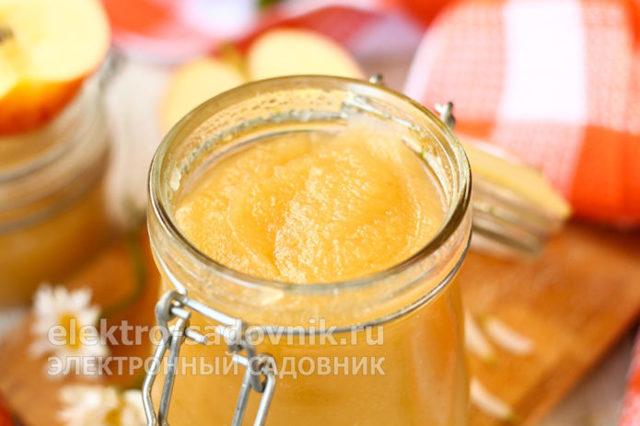 Яблочное пюре из антоновки в домашних условиях на зиму - рецепт с пошаговыми фото