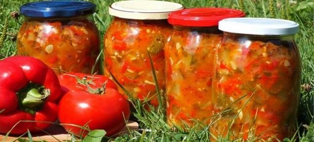 Салат охотничий на зиму классический - простой и вкусный рецепт с фото