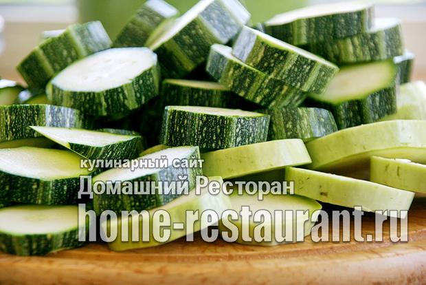 Жареные кабачки с чесноком на зиму - рецепт приготовления с пошаговыми фото