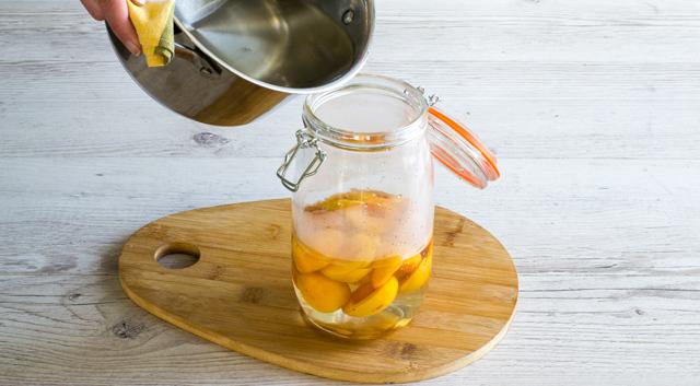 Компот из абрикосов с лимоном на зиму - 10 рецептов в банках с пошаговыми фото