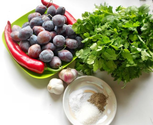 Ткемали из сливы на зиму - классический рецепт и 4 пошаговых варианта с фото