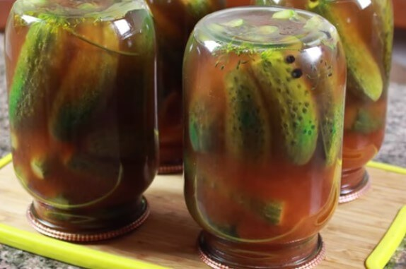 Огурцы с кетчупом Махеев на зиму - 24 рецепта хрустящих маринованных огурцов с пошаговыми фото
