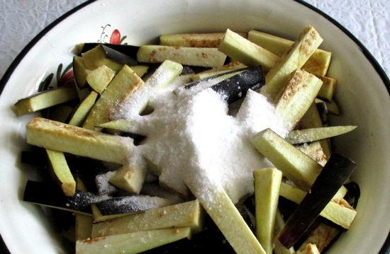 Баклажаны маринованные на зиму - простой пошаговый рецепт