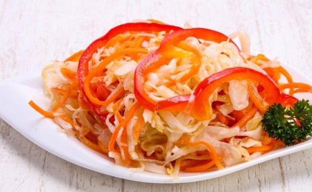 Салат Осенний - 6 рецептов на зиму с пошаговыми фото