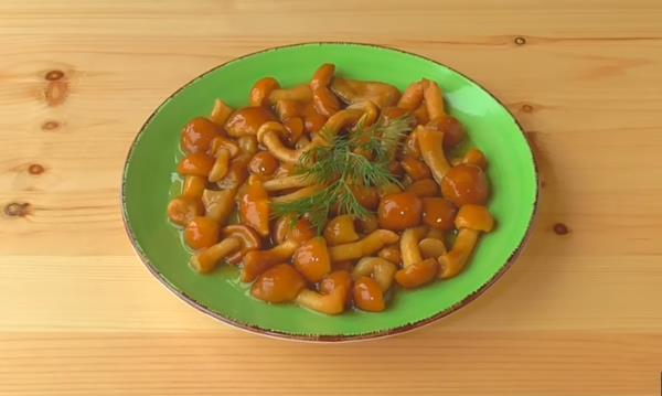 Маринованные опята на зиму - 5 простых и самых вкусных рецептов приготовления с фото пошагово