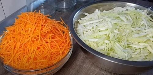 Салат из капусты и помидоров на зиму - рецепт с пошаговыми фото