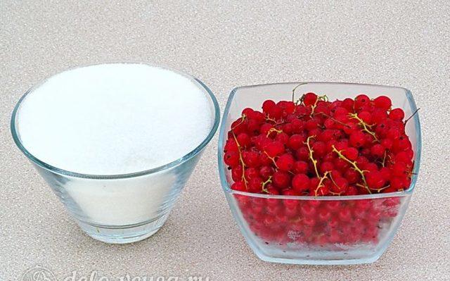 Повидло из красной смородины пятиминутка на зиму - простой пошаговый рецепт