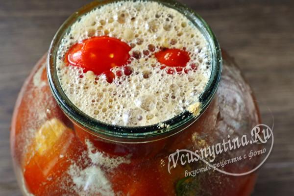 Помидоры с сухой горчицей на зиму - рецепт с пошаговыми фото