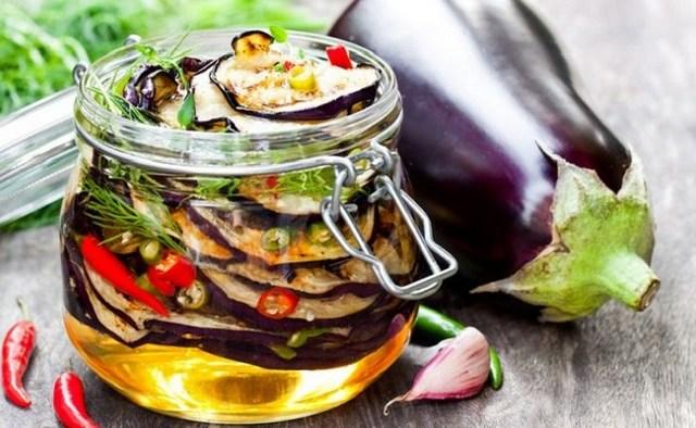Острый салат из баклажанов на зиму - 52 рецепта пальчики оближешь с пошаговыми фото