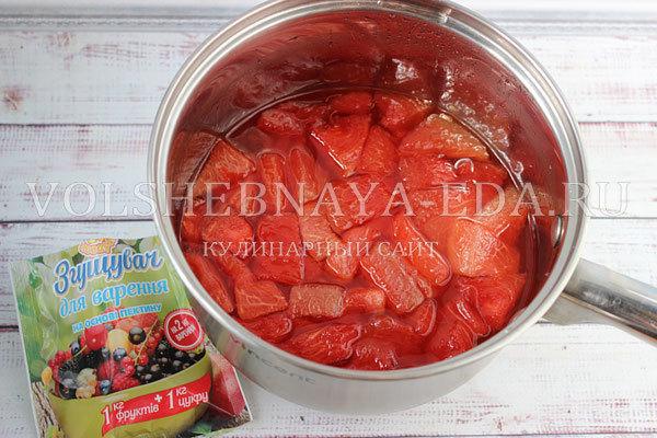 Варенье из мякоти арбуза на зиму - рецепт с пошаговыми фото