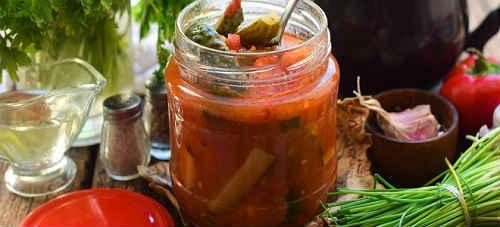 Лечо с огурцами на зиму - 17 рецептов самых вкусных с пошаговыми фото