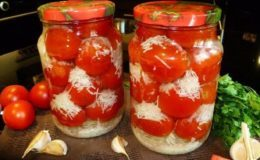 Помидоры с чесноком на зиму через мясорубку - рецепт с фото пошагово