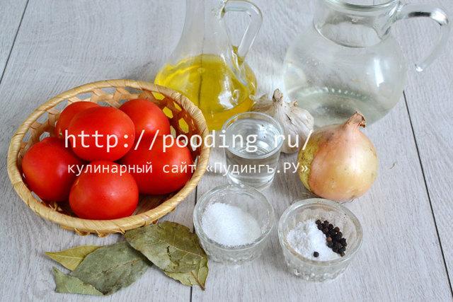 Салат из помидоров и лука на зиму - простой и вкусный рецепт с пошаговыми фото
