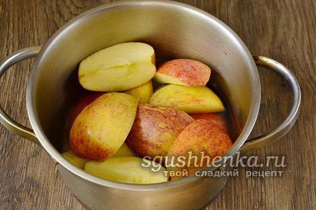 Яблочное пюре с желатином на зиму - рецепт в домашних условиях с фото
