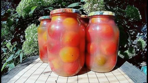 Заготовки на зиму из помидор - 5 золотых рецептов с фото пошагово