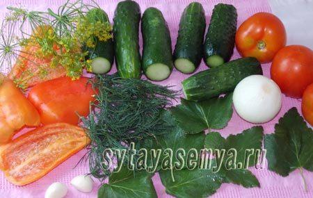 Резаные огурцы с чесноком в томатной заливке на зиму - 18 рецептов обалденных заготовок с пошаговыми фото
