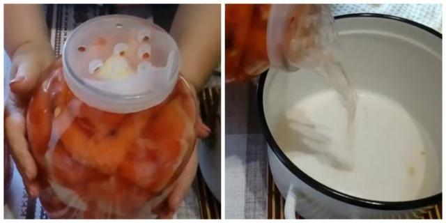 Арбузы в собственном соку в банках на зиму - пошаговый рецепт с фото