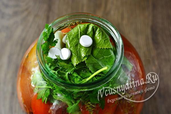 Помидоры с аспирином на зиму - рецепт с пошаговыми фото