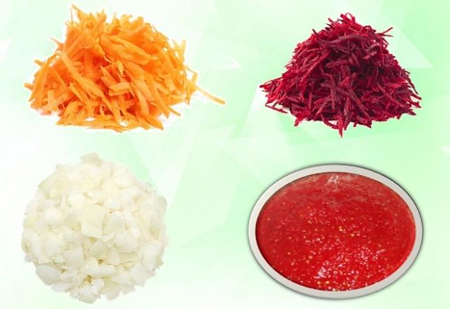 Заправка для борща из свеклы на зиму - 5 очень вкусных рецептов с фото пошагово