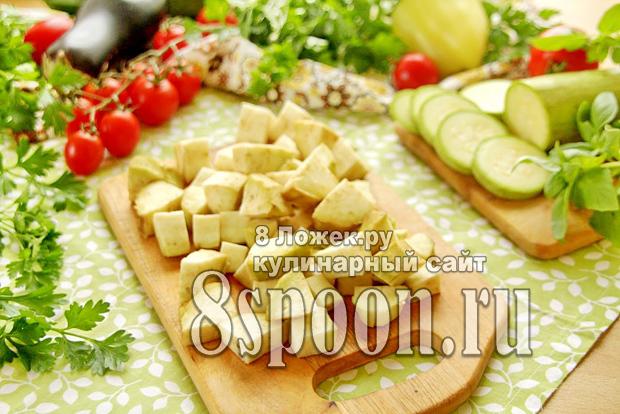Соте из баклажанов и кабачков на зиму - рецепт приготовления с пошаговыми фото