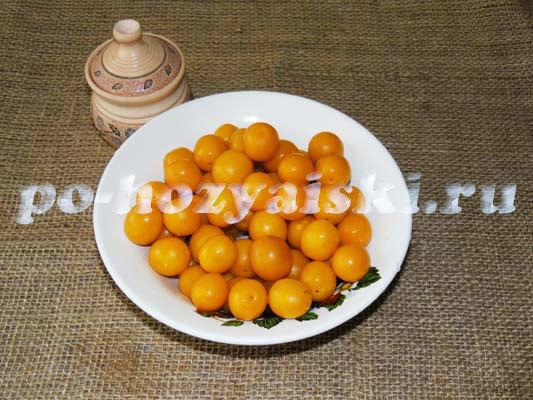 Желе из алычи с желатином на зиму - рецепт с пошаговыми фото