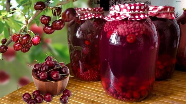 Компот из красной и белой смородины на 3-литровую банку на зиму - простой пошаговый рецепт