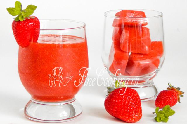 Клубника с сахаром без варки в морозилке на зиму - рецепт с пошаговыми фото