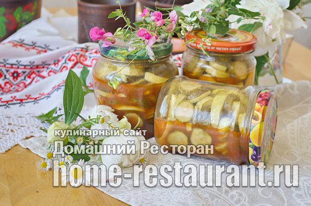 Жареные кабачки с майонезом на зиму - рецепт приготовления с пошаговыми фото
