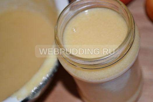 Пюре из яблок 3 кг со сгущенкой «Неженка» на зиму - рецепт в домашних условиях с фото